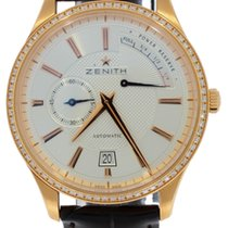 Zenith Captain Power Reserve 18k Rose gold with Diamonds