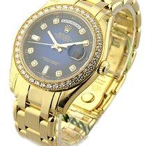Rolex Unworn 18948_blue_dd Yellow Gold Mens MASTERPIECE with...