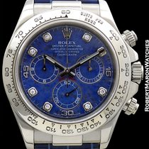 Rolex Daytona 116589 18k White Gold Sodalite Dial