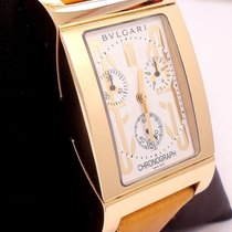 宝格丽 (Bulgari) Rettangolo Chronograph 18k Yellow Gold Rtc49g