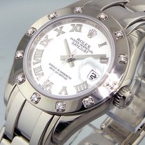 Rolex Pearlmaster 80319 White Gold Masterpiece 12 Diamond...