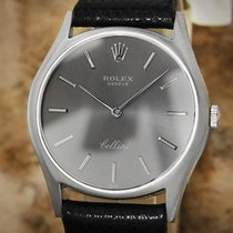 Rolex Cellini 1971 Solid 18k White Gold Serial 2659338 32mm...