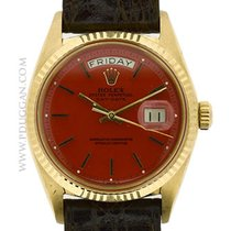 Rolex vintage 1960 18k yellow gold Gent's Day-Date