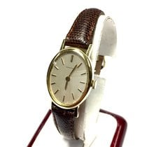 Tiffany & Co. 18k Yellow Gold Ladies Watch W/ New Brown...