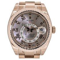 Rolex Sky-Dweller Rose Gold Sundust Dial 326935