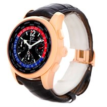 Girard Perregaux World Time Ww.tc 18k Rose Gold Watch 49800