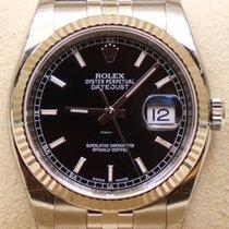 Rolex Datejust, Ref. 116234 - schw. Index Zifferblatt/Jubileeband