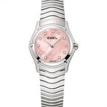 Ebel Classic Steel Case, Pink Mother Of Pearl Dial