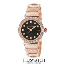 Bulgari Lucea 33mm 18k ORO ROSA-Rose Gold 102191 R