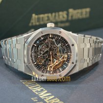 Audemars Piguet 41mm Audemars Piguet Skeleton Stainless Steel