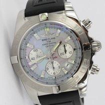 Breitling Chronomat 44 Perlmutt Diamant-Indexe AB011011/G686