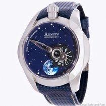 Azimuth spaceship sp-1 cadran bleu étoilé et terre qui tourne...