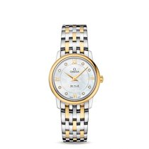 Omega De Ville  SS & Yellow Gold Ladies watch 424.20.27.60...