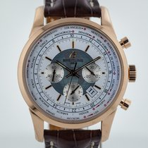 Breitling Transocean Chronograph Unitime, Mens, 18K Rose Gold,...