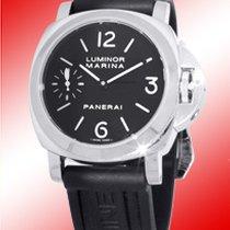 """Panerai Gent's Stainless Steel  """"Luminor Marina PAM111..."""