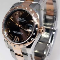 Rolex 31mm Lady Datejust Steel & 18k Rose Gold &...