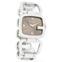 Gucci 125 G-Gucci Ladies Diamond Dial Swiss Quartz Watch YA125401