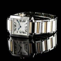 Cartier Tank Francaise Medium 750gg/steel
