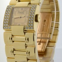 Piaget Dancer 18k Yellow Gold & Diamond Womens Quartz...