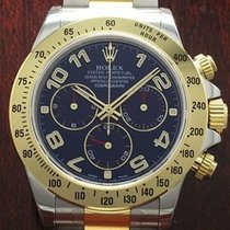 Rolex DAYTONA ACC ORO BLUE RARE  DIAL NEW REFERENCE