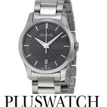 Gucci G-Timeless Grey Dial YA126522 T