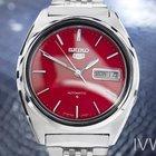 Seiko 5 Stainless Steel Automatic 7009-8330 Vintage Rare Mens...