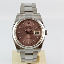 "Rolex Datejust 36mm Oyster - 2017  ""Pink Index"" 116200"