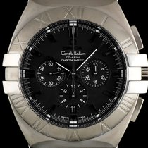 Omega S/S Black Chrono Dial Constellation Double Eagle 1514.51.00