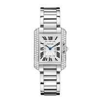 Cartier Tank Anglaise Quartz Ladies Watch Ref WT100008