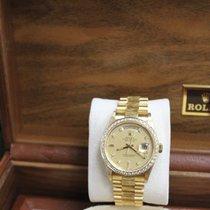 Rolex President Day Date 18238 18K YG Diamond Dial & Bezel