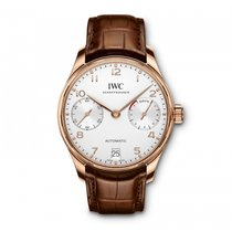 IWC Portugieser Automatic 7 Day Power Reserve Silver  Dial...