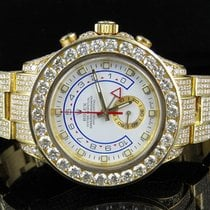 Rolex 18K Yellow Gold Mens 116688 Rolex Yacht Master II 44mm...
