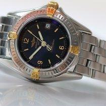 Breitling Callistino 28mm black dial/pilot bracelet