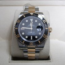 Rolex Submariner Date 18K Yellow Gold/Stainless Steel/Black Dial