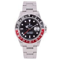 Rolex Pre-Owned GMT-II 16710 Black & Red 2008 Model