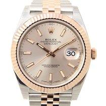 勞力士 (Rolex) Datejust 18k Rose Gold And Steel Pink Automatic...
