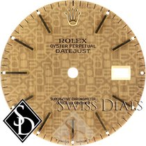 Rolex Datejust Jubilee Style Champagne Stick Marker Dial Two-Tone