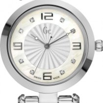 Gc Guess Collection Diver Chic GCX17106L1S Elegante Damenuhr...