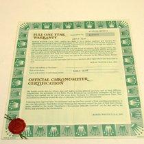 Rolex Warranty Certificate Ref: 16800