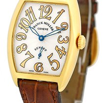"Franck Muller Lady's 18K Yellow Gold  ""Cintree Curvex..."
