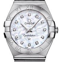 Omega Constellation Brushed 27mm 123.10.27.60.55.001