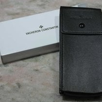 Vacheron Constantin vintage service box leather black strap...