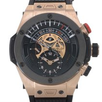 Χίμπλοτ (Hublot) Big Bang Unico Bi-Retrograde Chrono King Gold...