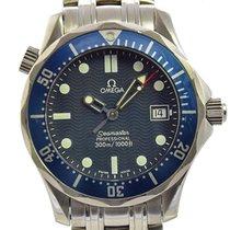 Omega Seamaster James Bond Blue Wave Dial Midsize Watch...