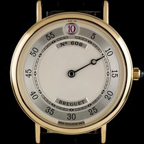 Μπρεγκέ (Breguet) 18k Yellow Gold Silver Dial Jump Hour...
