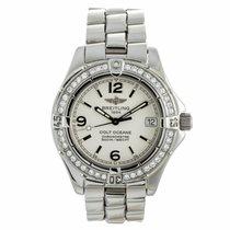 Breitling Colt Oceane Diamond Quartz Watch A77350 (Pre-Owned)