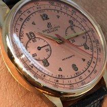 Breitling Vintage Breitling Antimagnetic Chronograph 18 K...