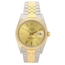 Rolex Datejust 16233 - Gents Watch - Champagne Dial -1992