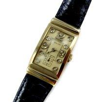 Hamilton Vintage 14KT Gold Diamond Watch