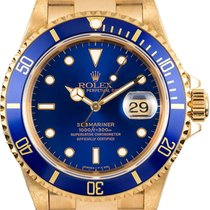 Rolex Submariner Yellow Gold Blue D